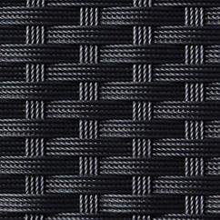 Polyrattanfaser schwarz